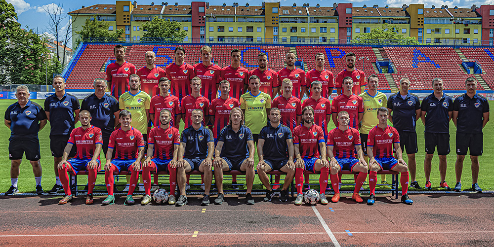 FK Borac ekipa